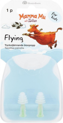 Swedsafe Flygpropp For Kids i gruppen HJÄLPMEDEL hos Tandshopen.se ZupperWorld AB (2342567)
