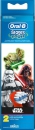 Oral-B Kids Star Wars borsthuvud 2 st